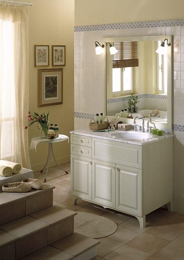 Arredo bagno classico country - Arredamento bagno classico ...