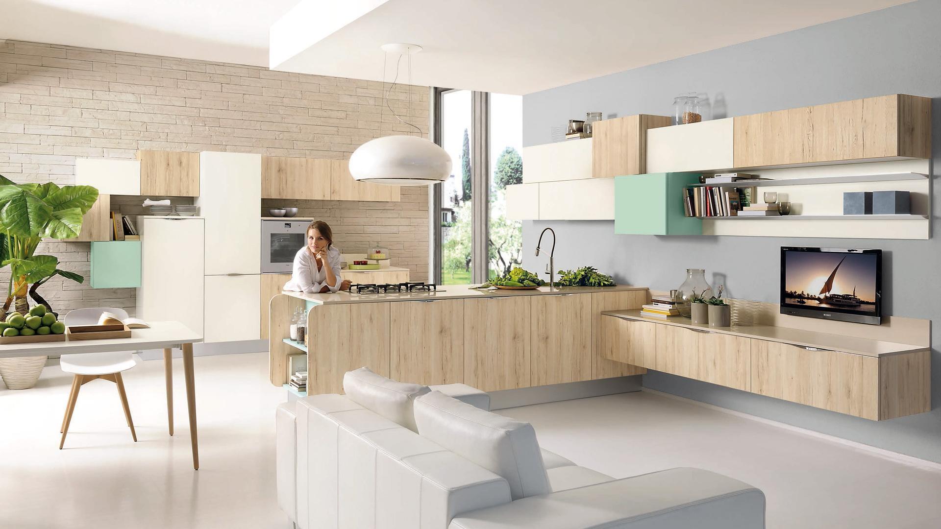 Cucina moderna Swing
