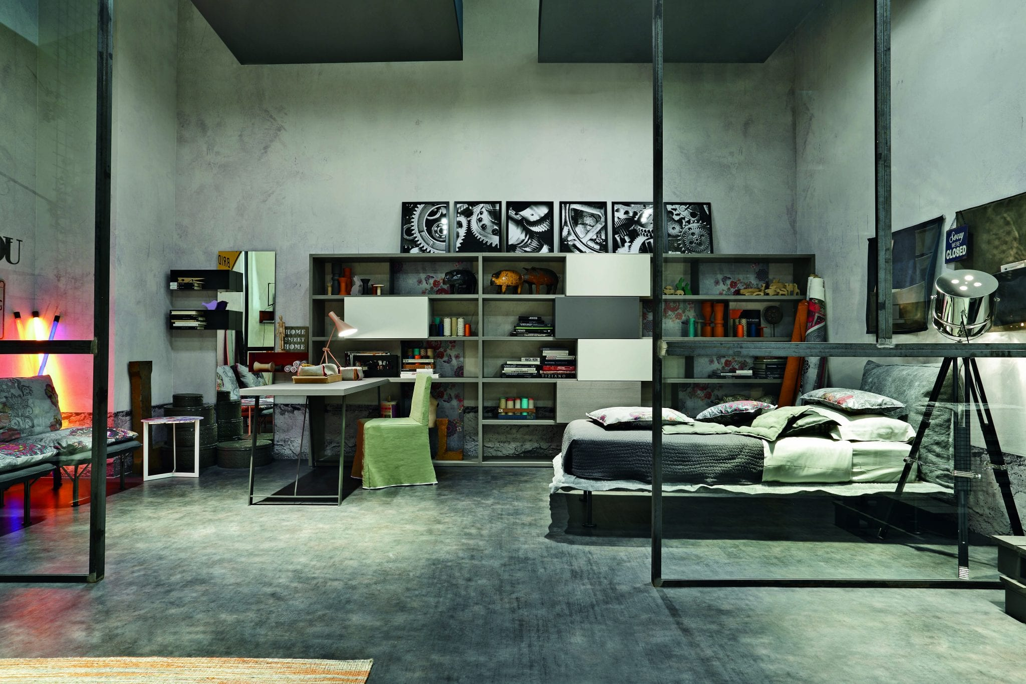 Camere ragazzi moderne componibili - Camere da letto per ragazzi moderne ...