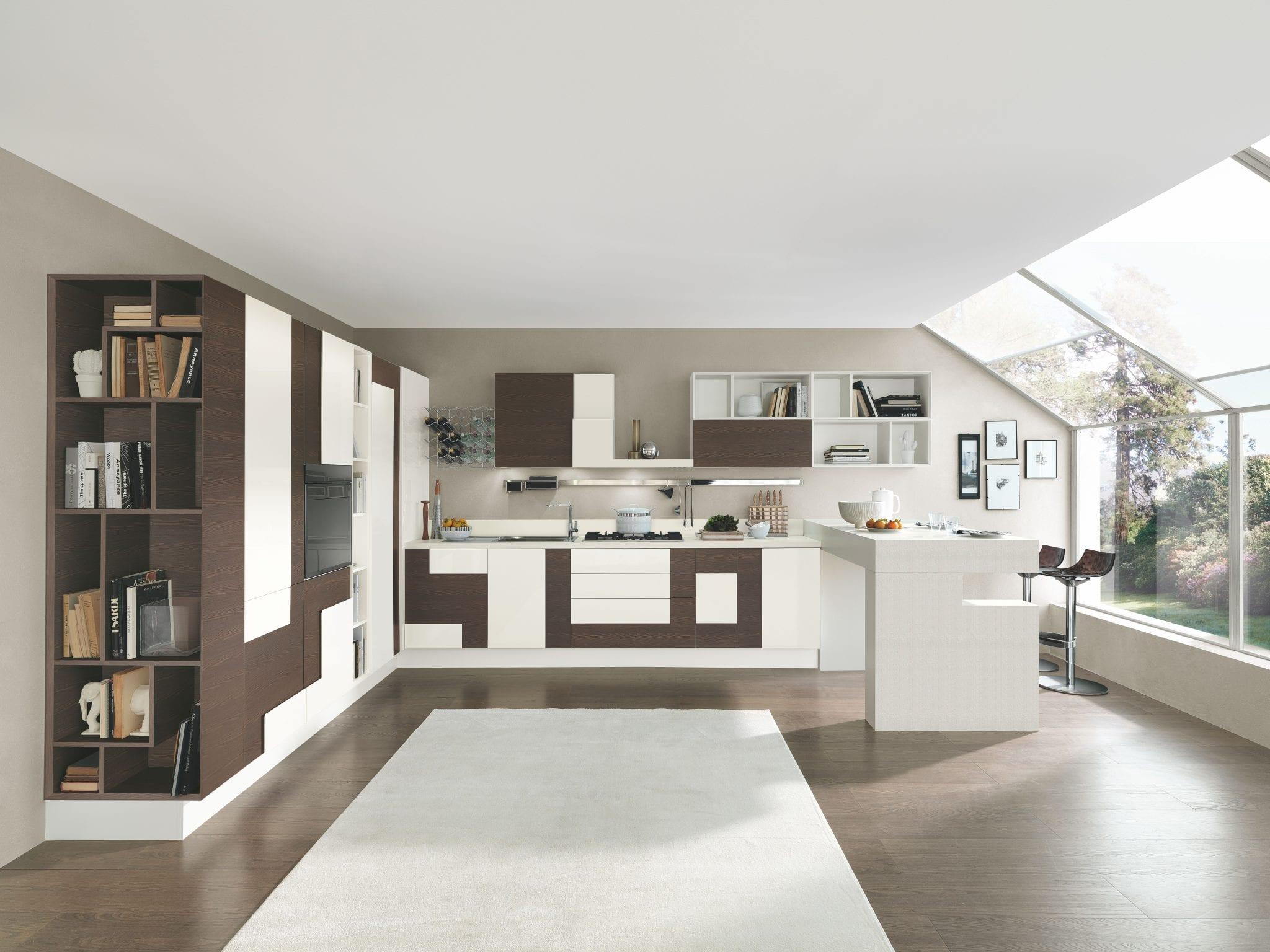 Cucina lube creativa - Piani cucina laminato ...