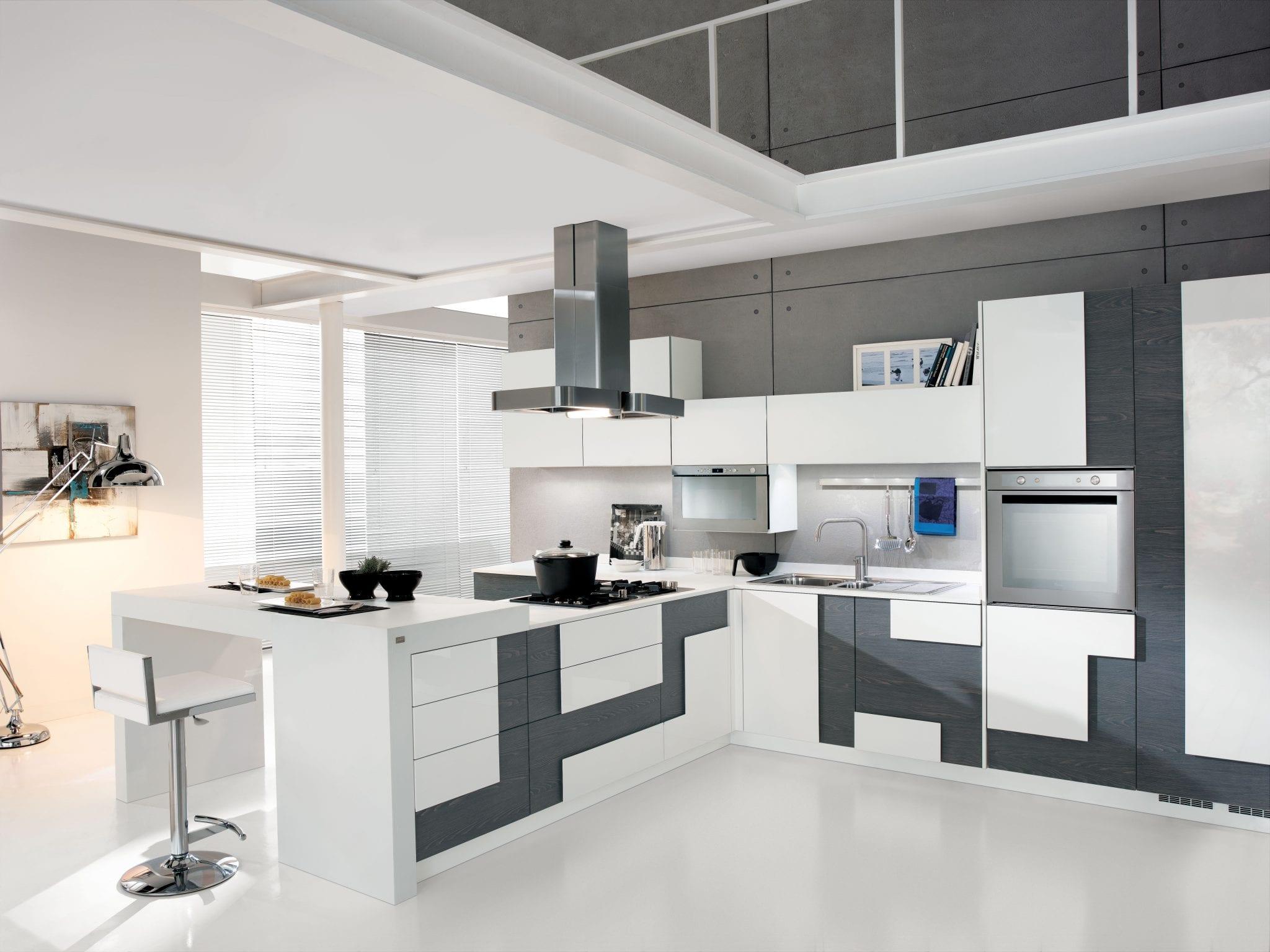 Cucina moderna creativa lube for Ikea appuntamento cucina