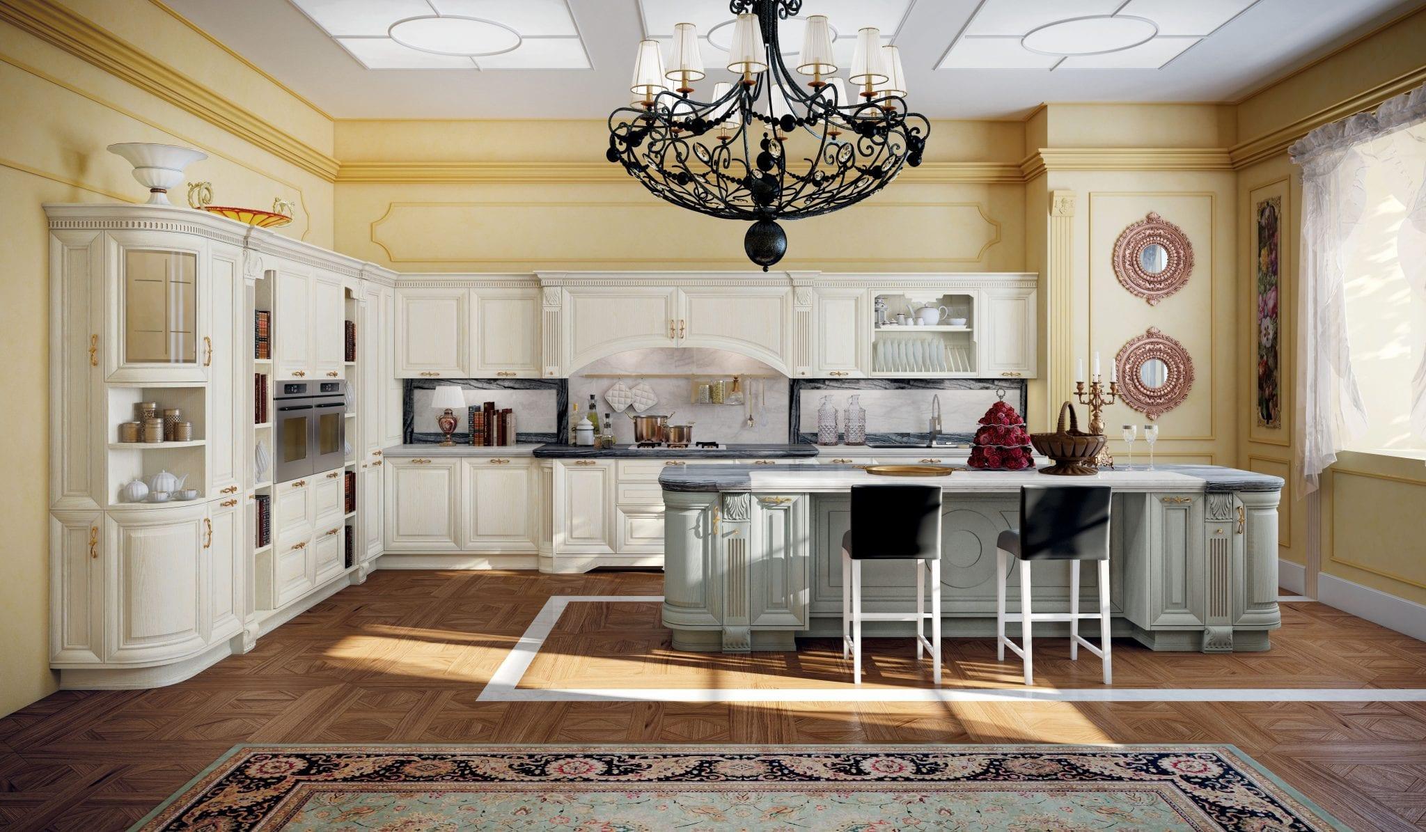 Cucina elegant raimondi idee casa - Tipologie di cucine ...