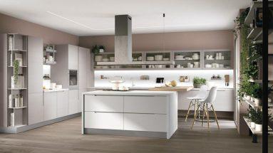 cucina luna lube composizione moderna