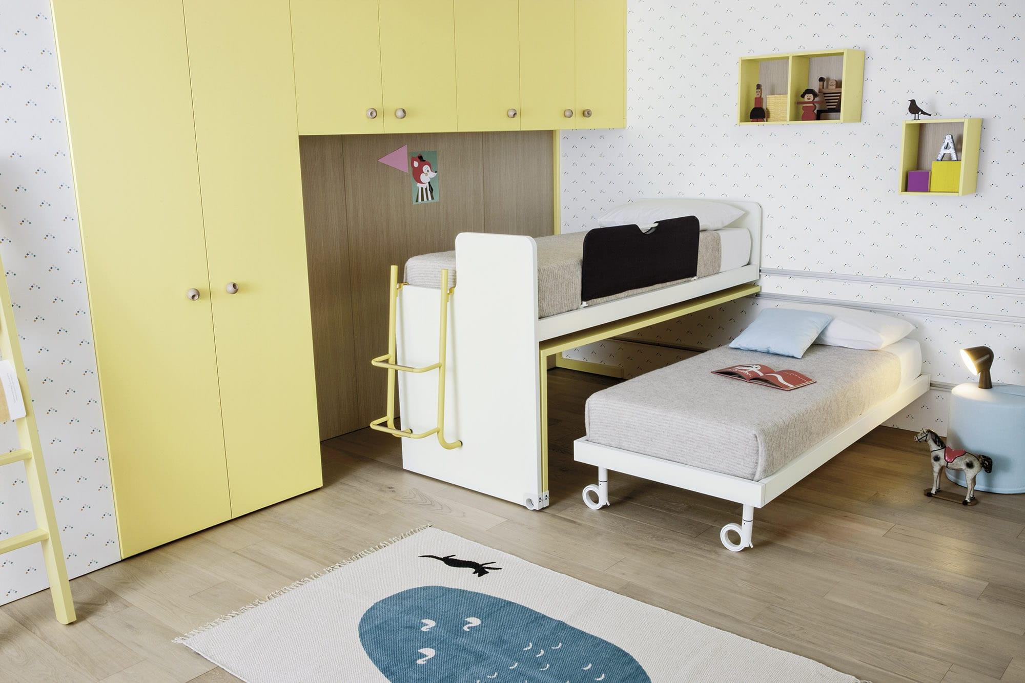 Camerette moderne battistella - Ricci casa armadi ...