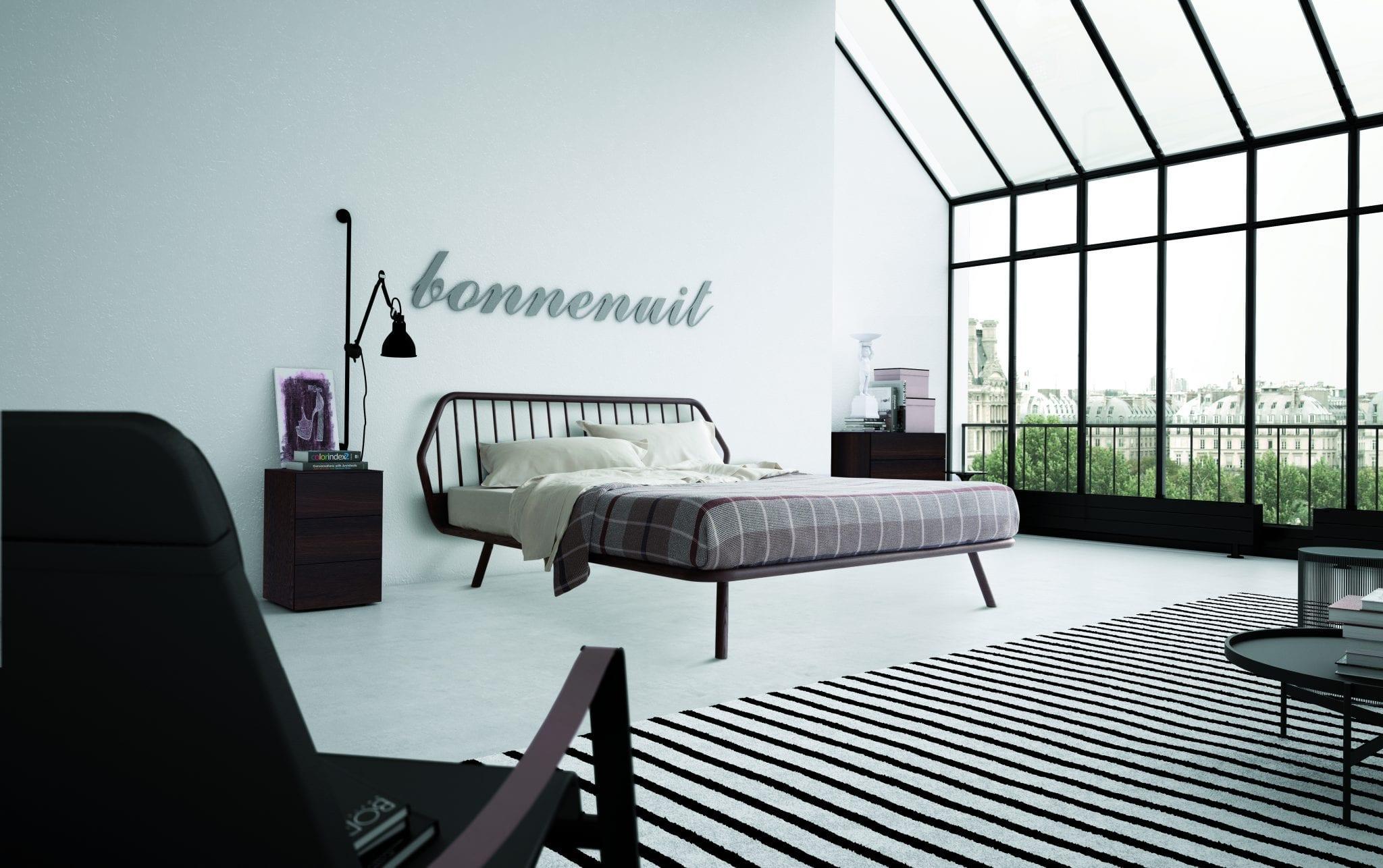 Letti in legno moderni stile per la tua camera da letto