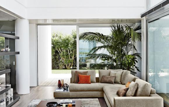 divano bijoux ditre panoramica soggiorno moderno