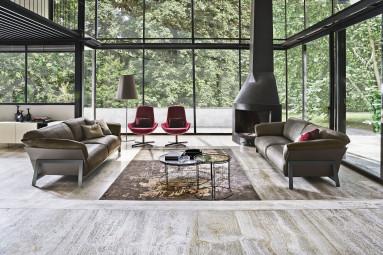 Divano kanaha ditre soggiorno moderno