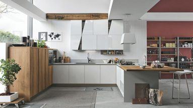cucina infinity stosa motivo diagonal