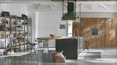 cucina infinity stosa dettaglio isola