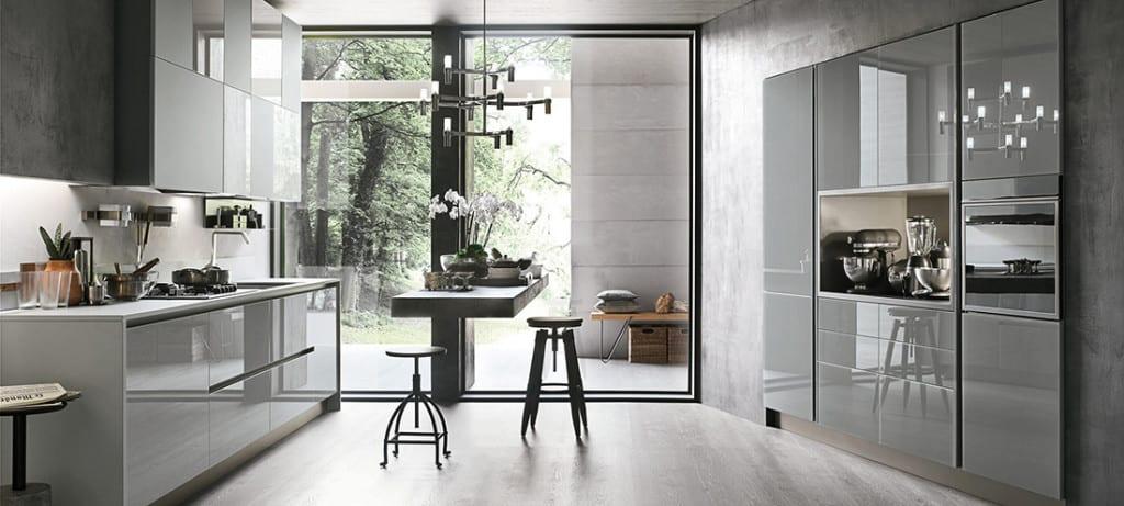 Cucina moderna elegante stosa