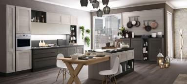 cucina york stosa composizione con tavolo