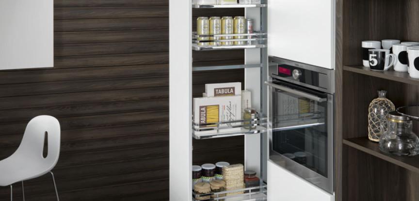 Cestelli estraibili per cucine meccanismo angolare easy corner cesti estraibile necgs vibo - Vibo accessori cucina ...