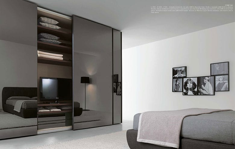 4 idee per la tv nella camera da letto raimondi idee casa for Idee armadio camera da letto