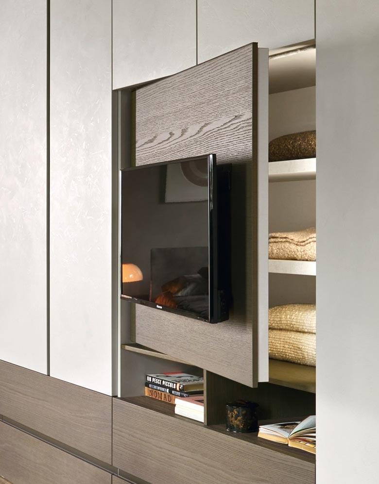 Armadio Scorrevole Porta Tv Mindland : Idee per la tv nella camera da letto raimondi casa