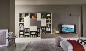 pannello porta tv a parete