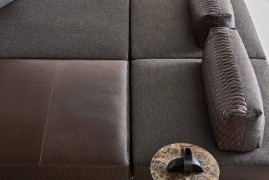 divano sanders air ditre dettaglio tessuti seduta