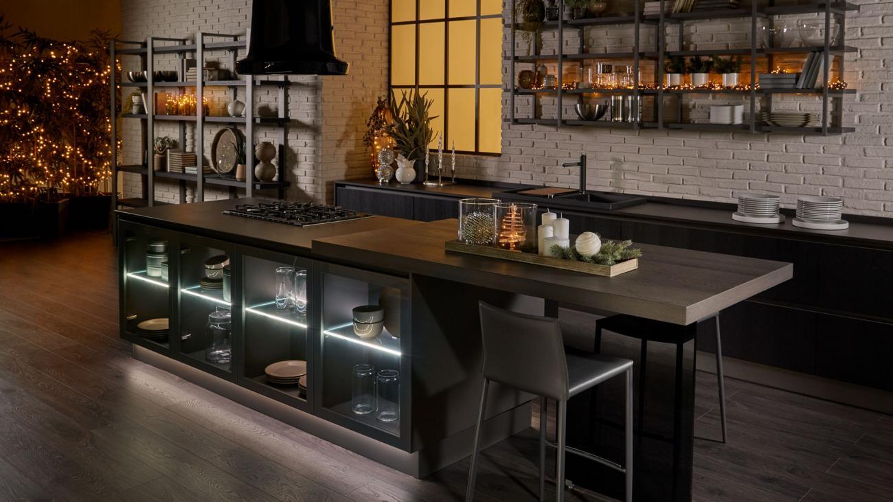Nuove Cucine Lube Moderne Design Autentico E Rispetto Per L Ambiente