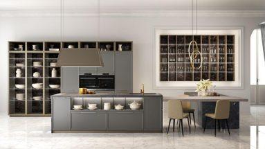 cucina flavour lube composizione parete attrezzata
