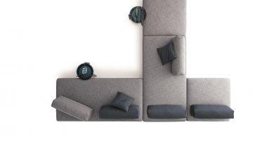 divano sanders air ditre panoramica dall'alto