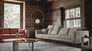 Divano Kim High Ditre ambientazione soggiorno moderno
