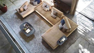 divano sanders air ditre ambientazione soggiorno componibile