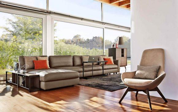 divano urban ditre panoramica soggiorno