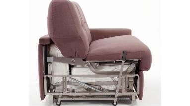 Divano letto Extroverso Vitarelax dettaglio meccanismo divano