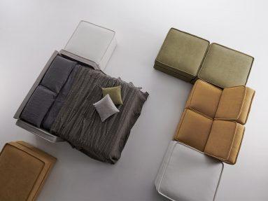 Divano letto Young Vitarelax composizione con divano letto aperto